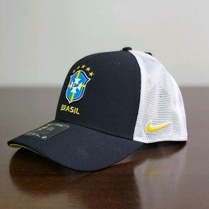 Nike Brasil National Soccer Team Aerobill Hat Cap